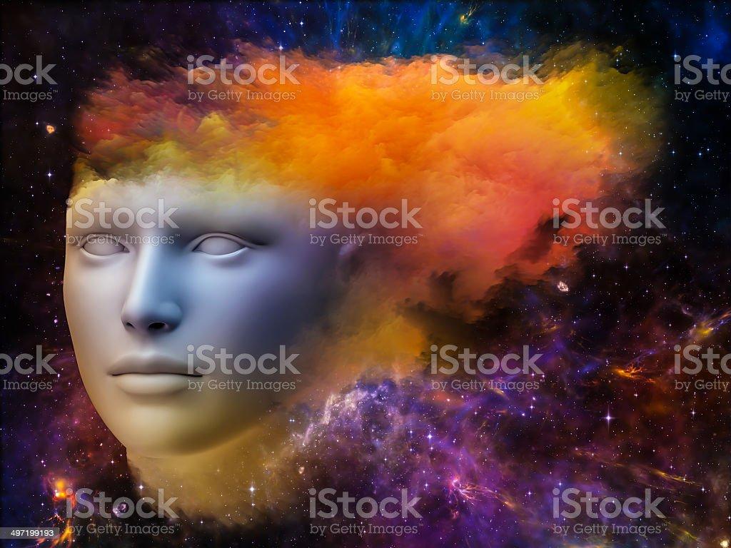 Brain Fog royalty-free stock photo