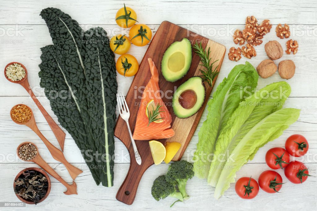 Brain Food Nutrition stock photo