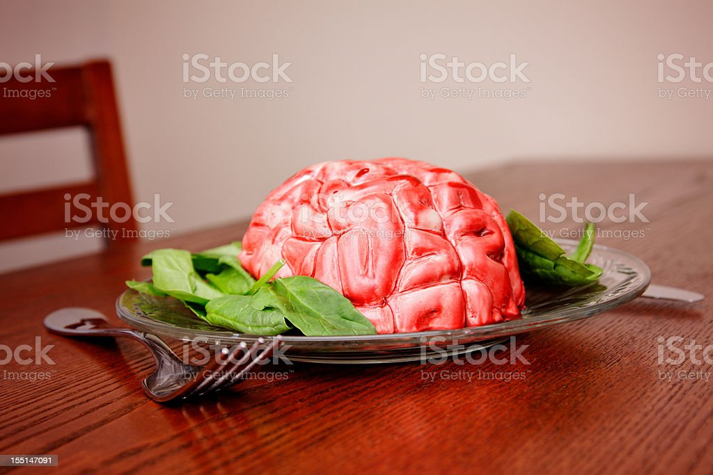 Brain Food stock photo
