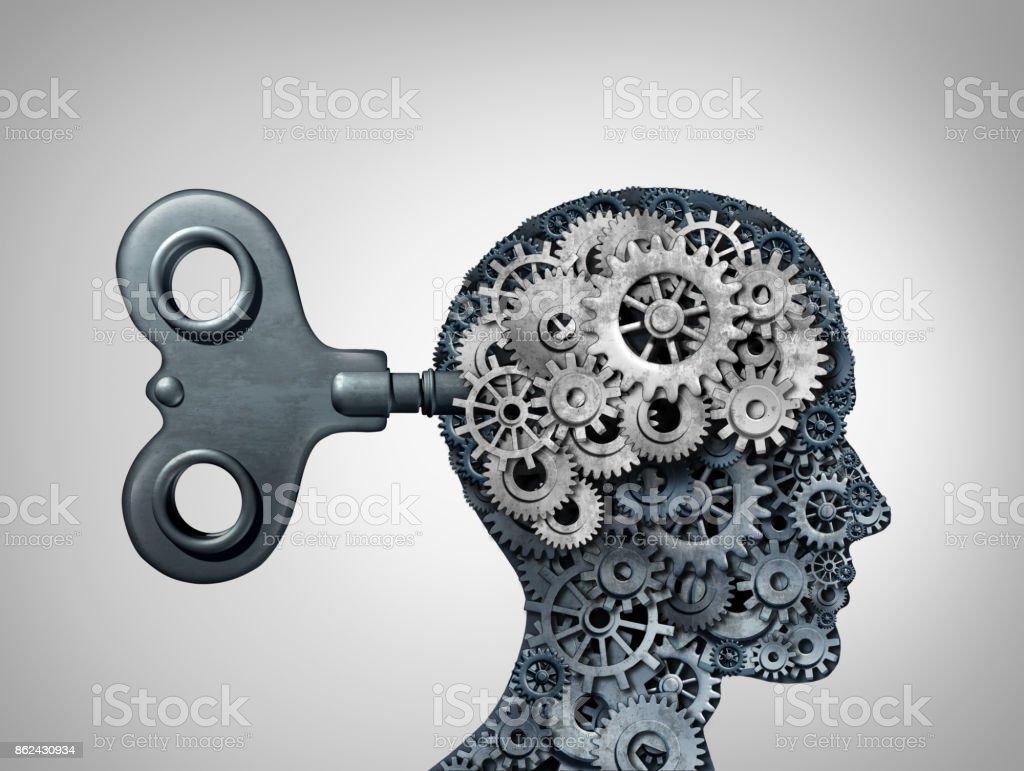 Brain Function Symbol stock photo