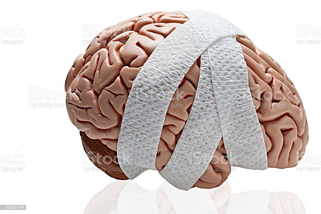 Brain Injury royalty-free stock photo