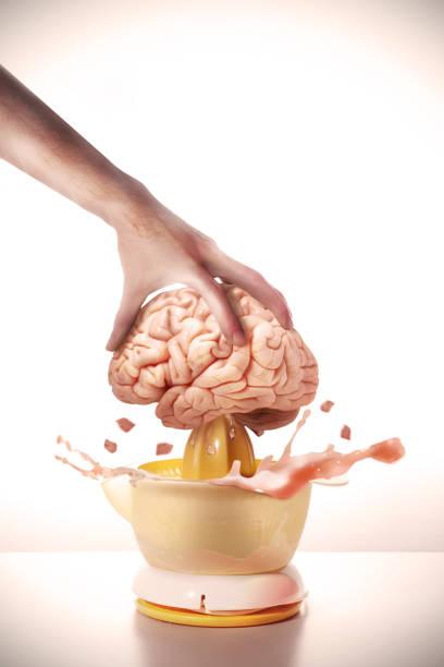 Brain juice - foto stock