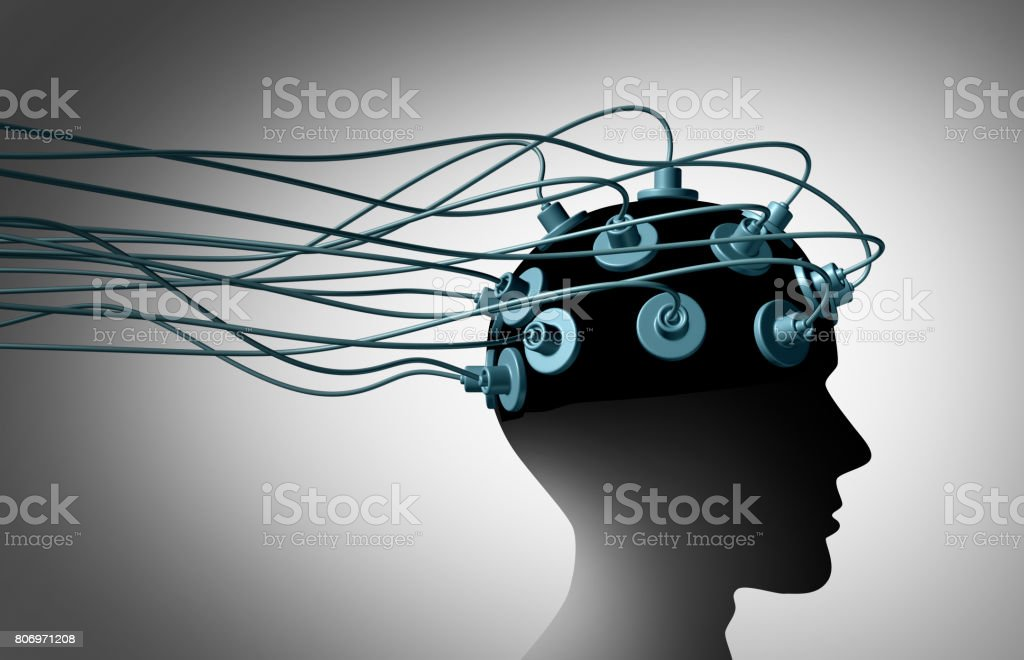 Brain Linking stock photo