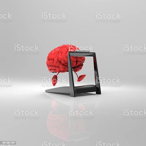 Cerebro Foto de stock y más banco de imágenes de Anatomía