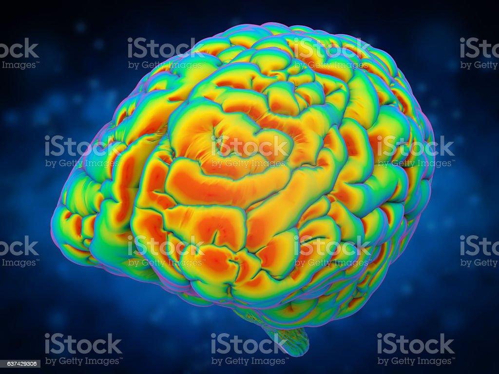 brain power concept stock photo