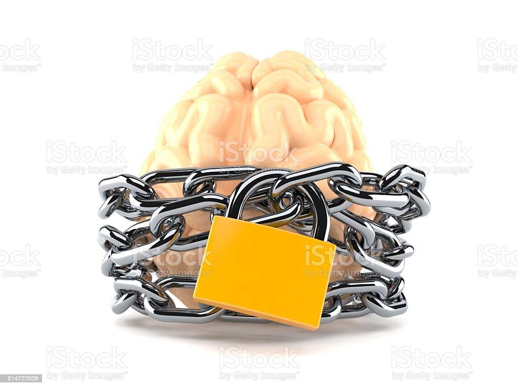 Brain protection stock photo