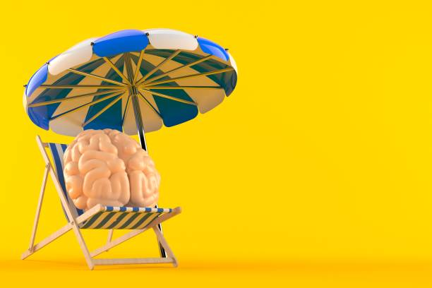 Brain relax concept - foto stock