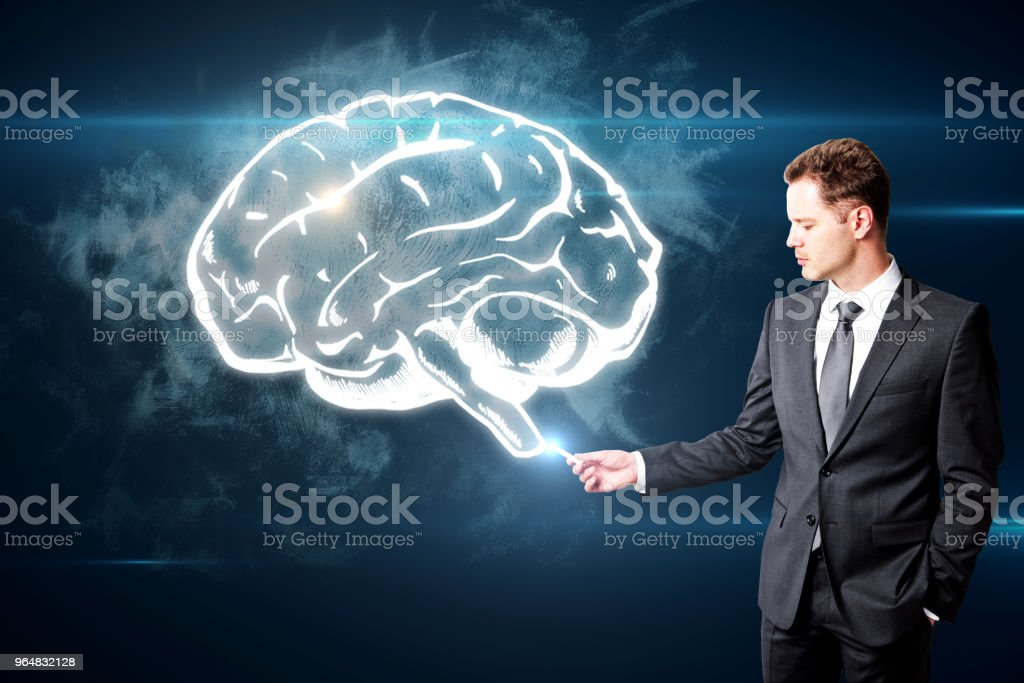 Brain storm and innovation concept royalty-free stock photo