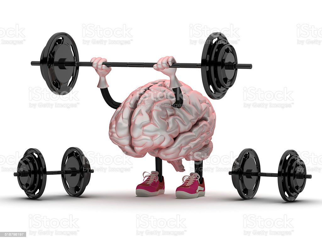 brain training stock photo