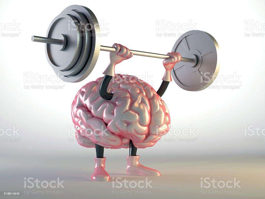 brain training stock photo
