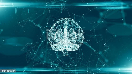 864460734istockphoto Brain used for thinking artificial intelligence neural network 864460734