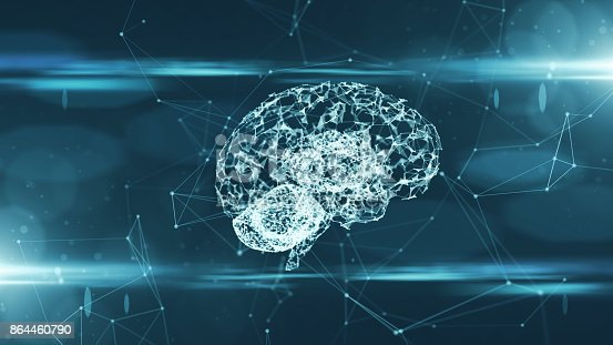 864460734istockphoto Brain used for thinking artificial intelligence neural network 864460790
