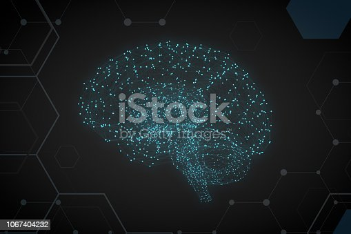992017166 istock photo Brain with Neurons, Artificial Intelligence Concept 1067404232