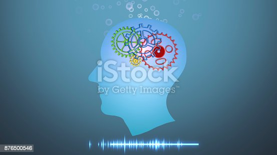 1071338130istockphoto Brain works, Artificial intelligence (AI) and High Tech Concept. Human and conceptual cyberspace, smart artificial intelligence. Future science with modern technology. 876500546