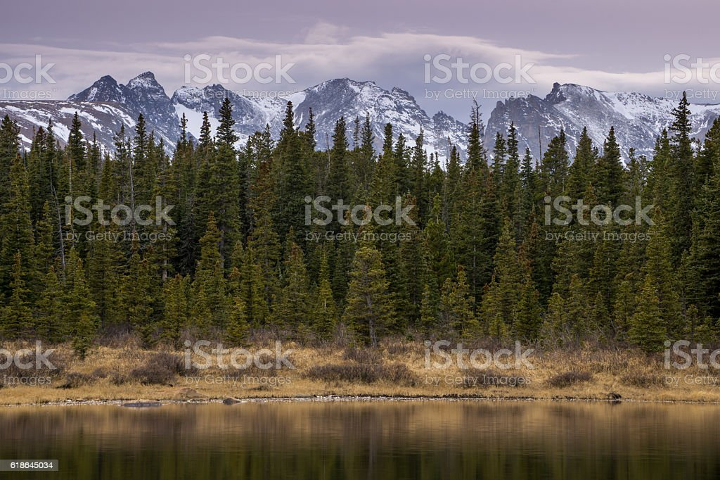 Brainard Lake Recreation Area stock photo