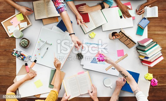 istock Brainstoming Gruoup of people Working Concept 522630664