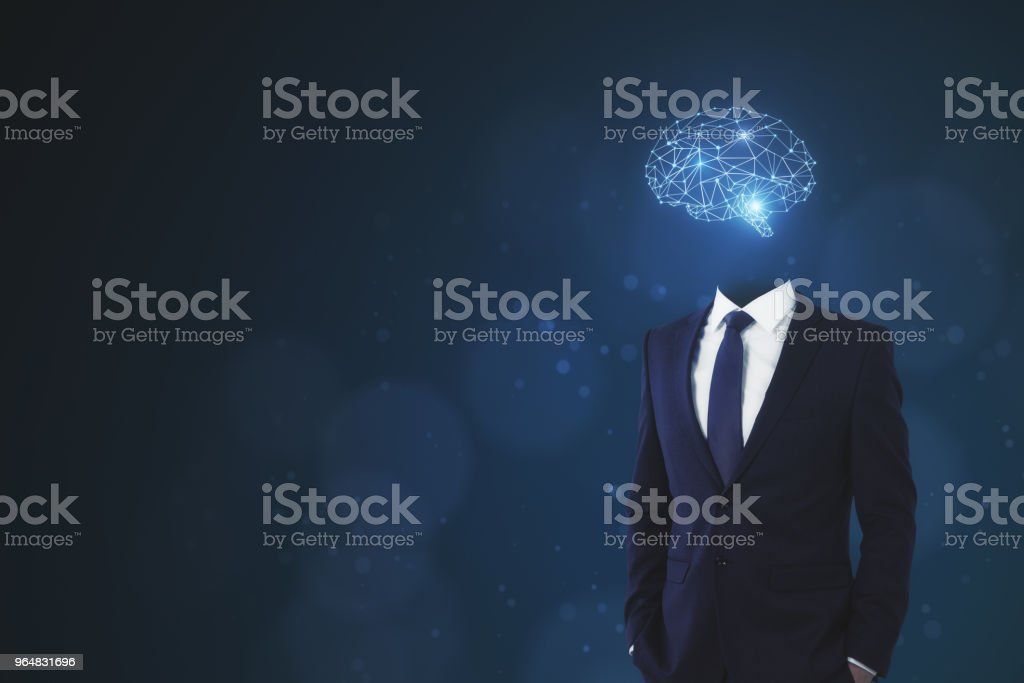Brainstorm and innovation concept royalty-free stock photo