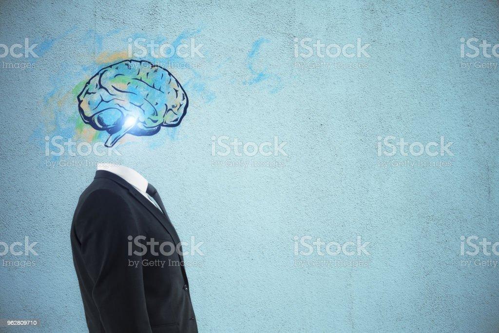 Conceito de Brainstorm e sucesso - Foto de stock de Abstrato royalty-free