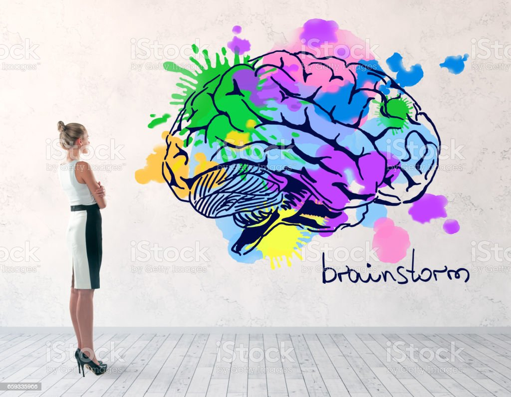 Brainstorm concept stock photo