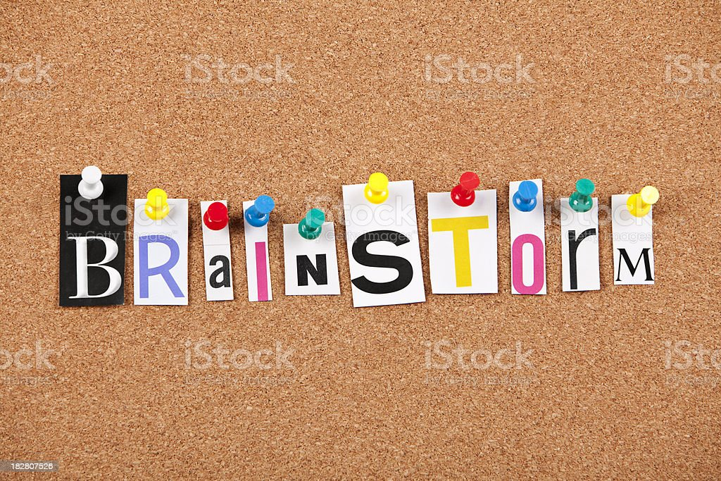 Brainstorm royalty-free stock photo