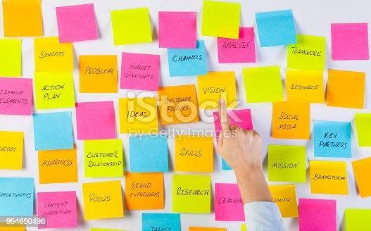 istock Brainstorm strategy workshop 954650496