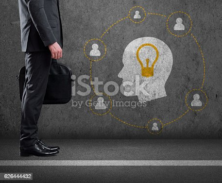 istock Brainstorming and New Idea concept 626444432