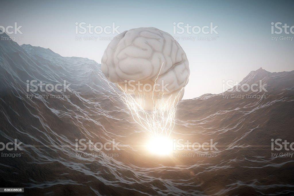 Brainstorming concept foto