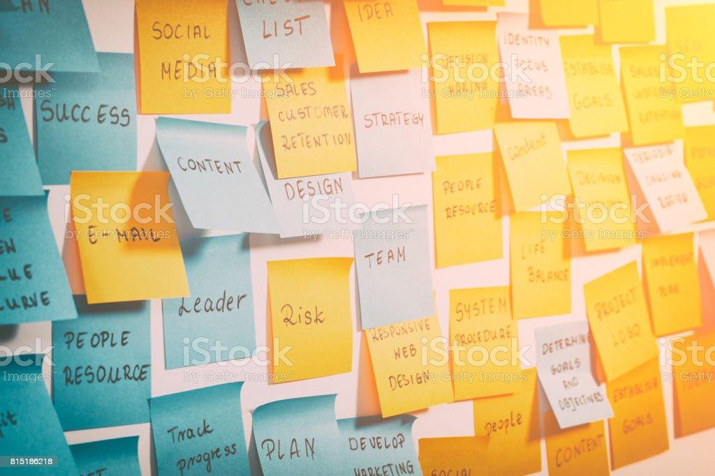 Conceitos de brainstorming. foto de stock royalty-free