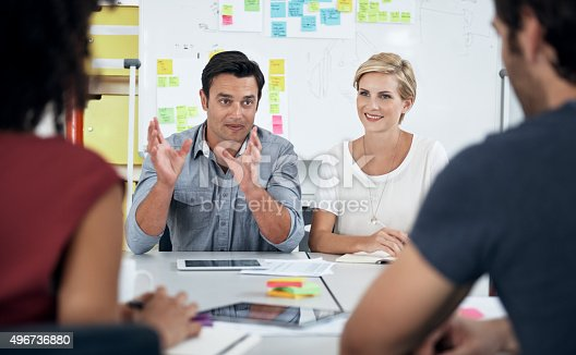 491244494 istock photo Brainstorming- creating more ideas in less time 496736880