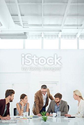istock Brainstorming for future success 534920157
