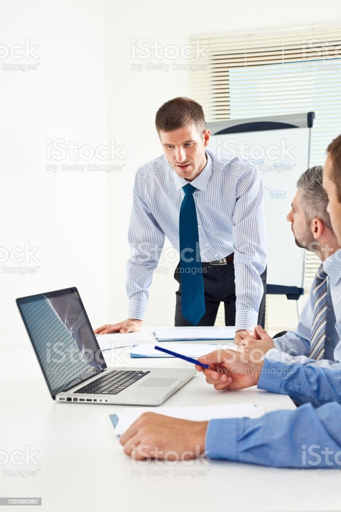 Brainstorming  A Helping Hand Stock Photo