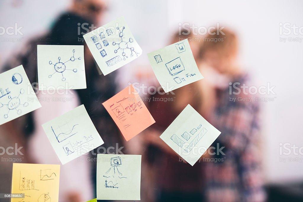 Brainstorming stock photo