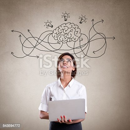 istock Brainstorming pondering about new business 543594772