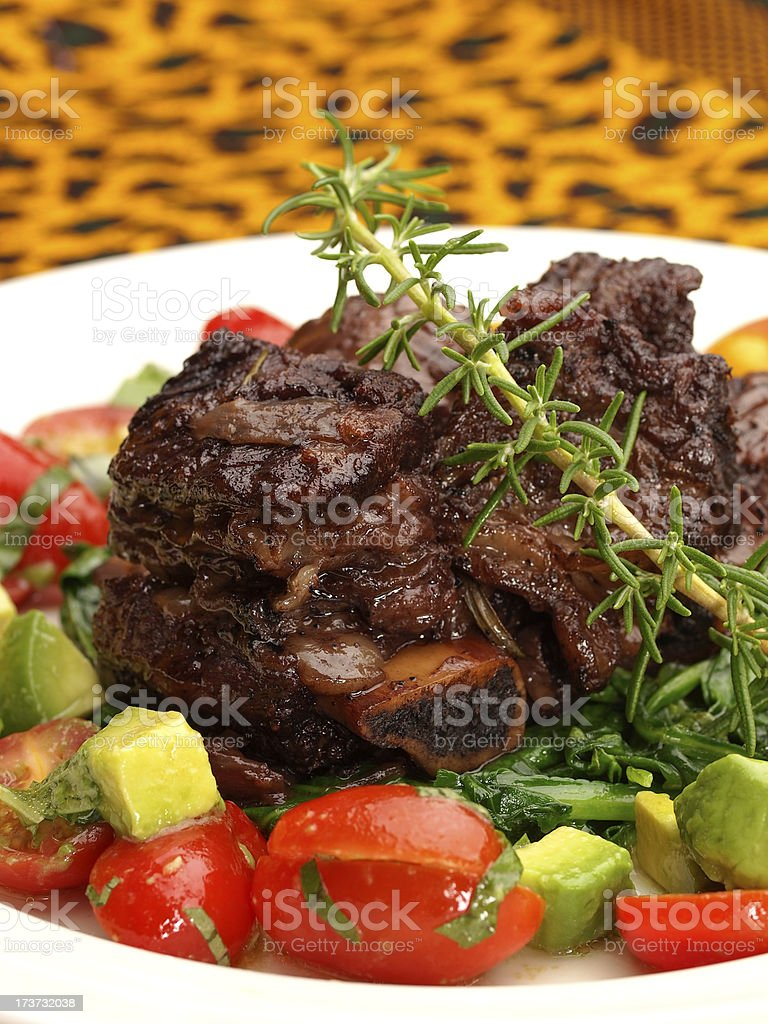braised Shortribs stock photo