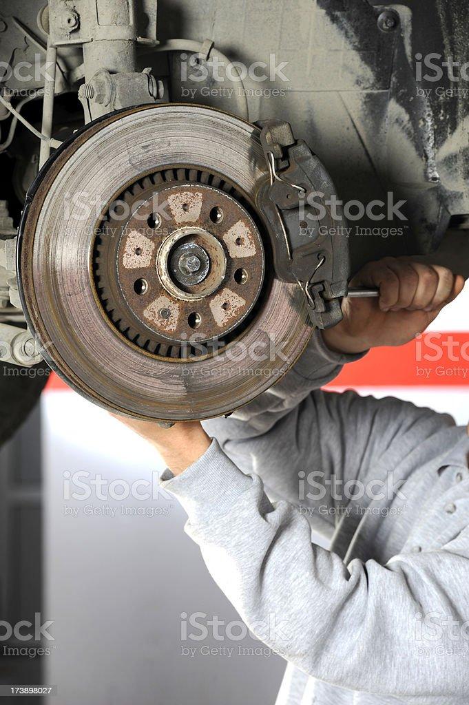 Brake Control royalty-free stock photo