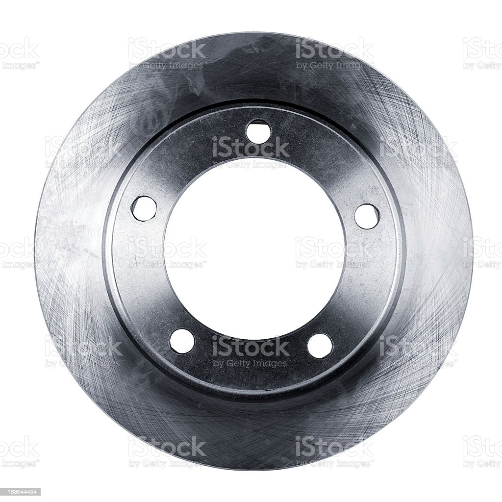 brake disc isolated on white stock photo