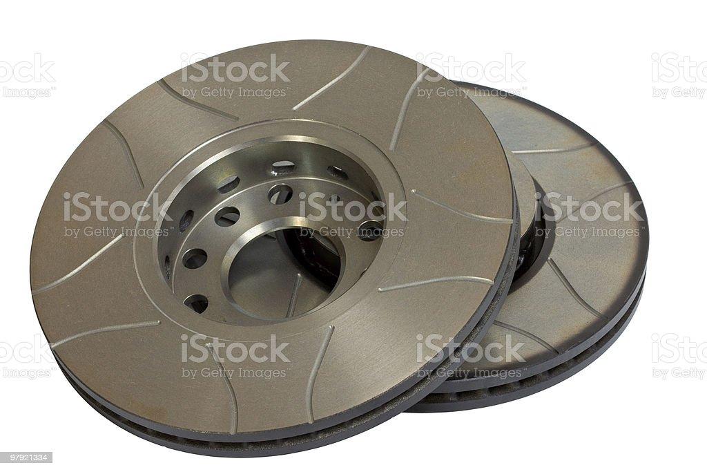 Brake Discs royalty-free stock photo