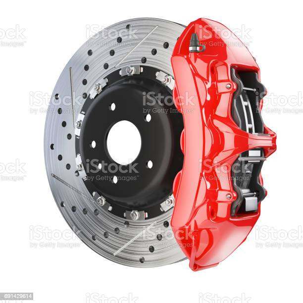 Brake disk and red caliper brakes system picture id691429614?b=1&k=6&m=691429614&s=612x612&h=h5qg3hrndhibufdmermgo5s3k96s7ukdmlubxvp3pkw=