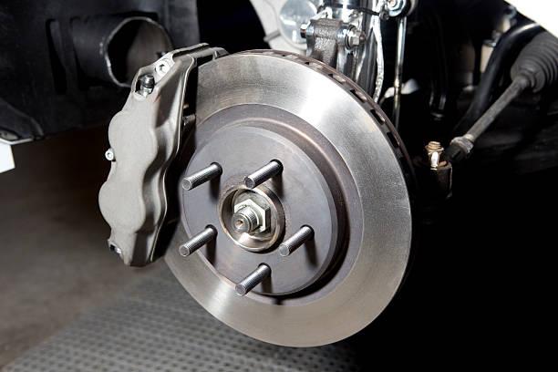 Brake disk. stock photo