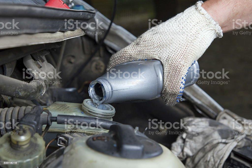 Brake liquid stock photo