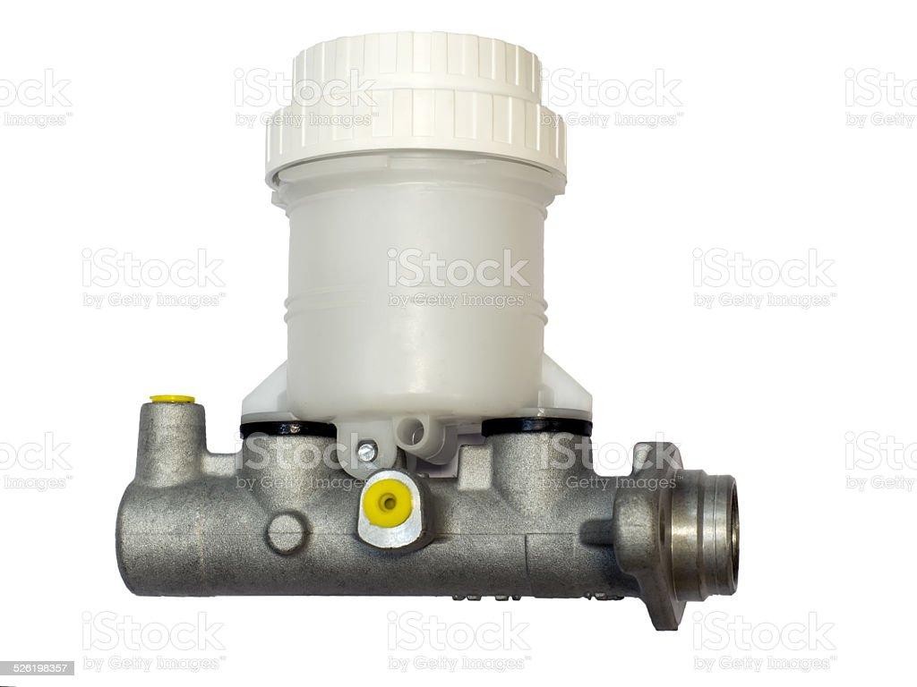 Brake master cylinder stock photo