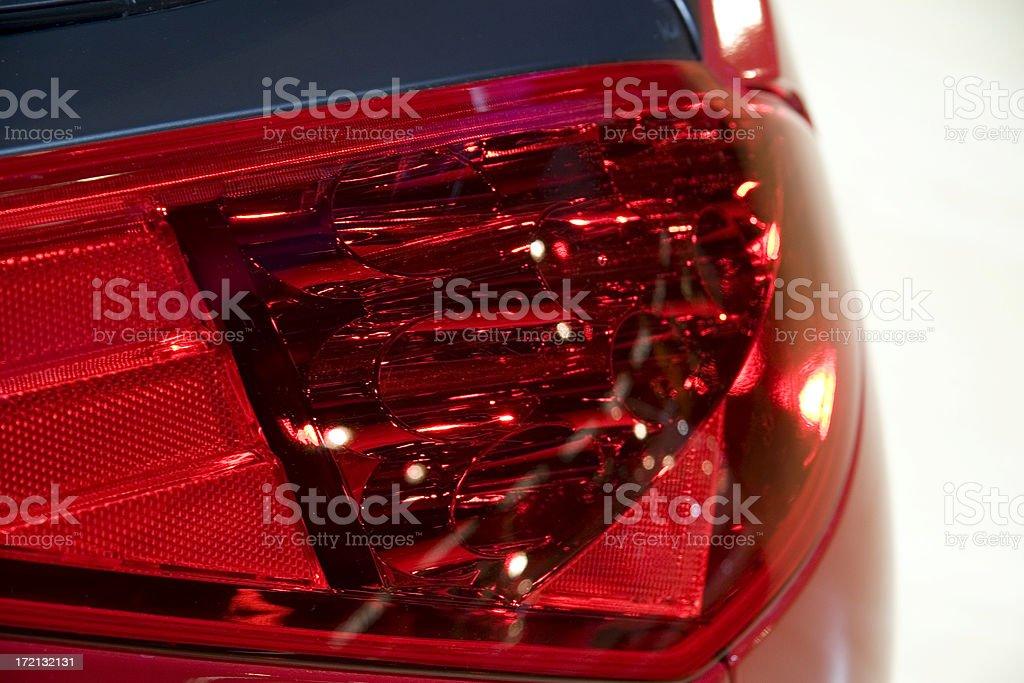 Brakelight detail royalty-free stock photo