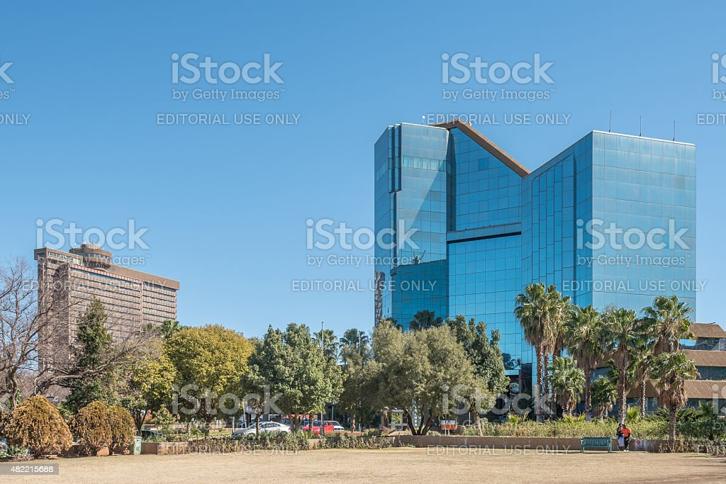 Bram Fischer Building and the Provincial Government Building stock photo