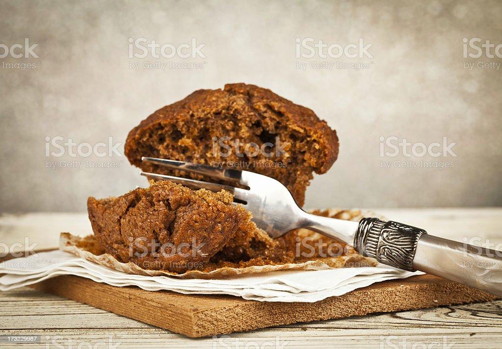 Bran Breakfast Muffin stock photo