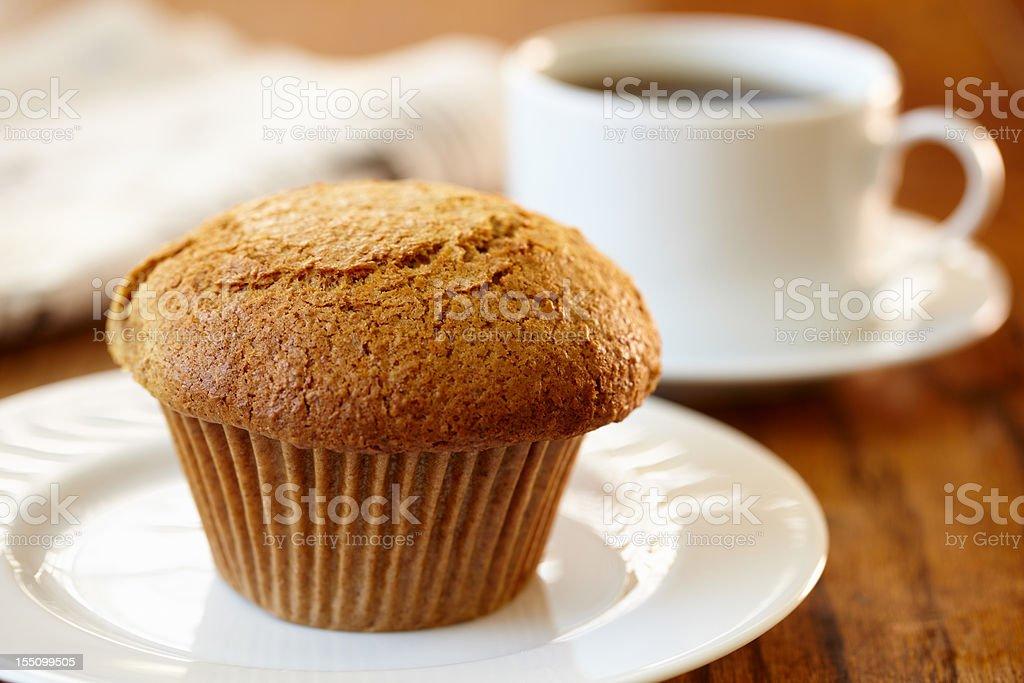 Bran muffin royalty-free stock photo