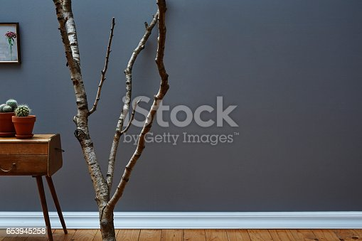 istock branch and decoration in loft 653945258