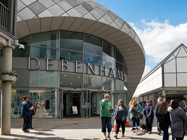 Branch of Debenhams, Bury St Edmunds stock photo