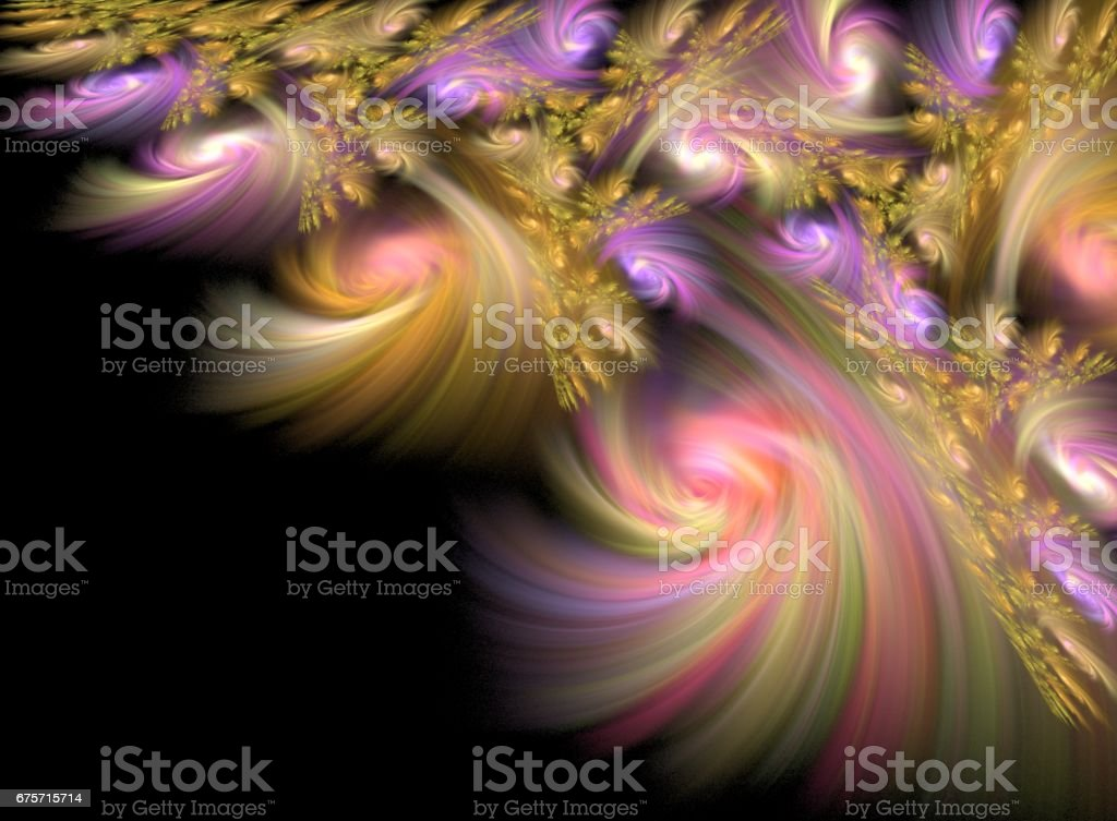 Branch With Decoration royalty-free stock photo