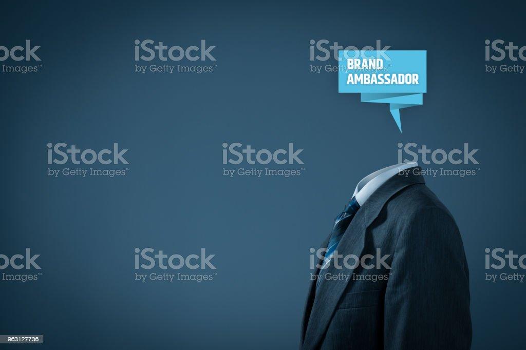 Brand ambassador stock photo