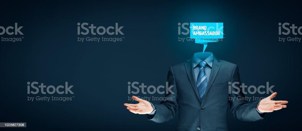 Brand ambassador professional stock photo
